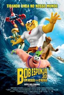 Poster de: Bob Esponja: Um Herói Fora D´Água