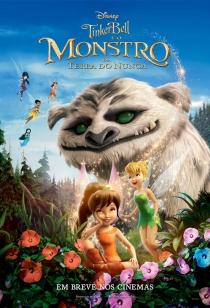 Poster de: TinkerBell e o Monstro da Terra do Nunca
